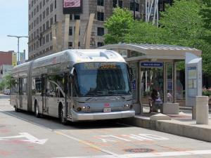 Cleveland Bus Rapid Transit Station